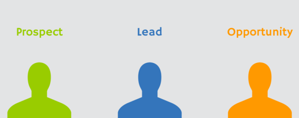 Lead, Prospect e Oportunidade, como atualizar de um para o outro